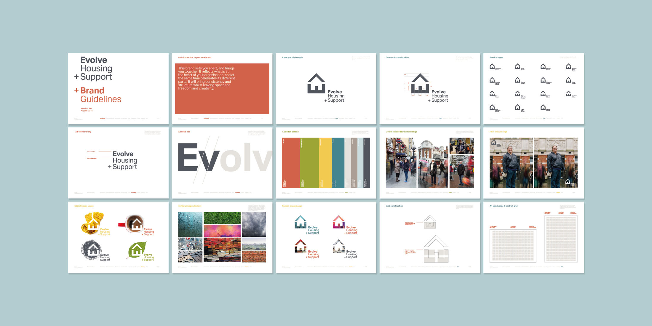 Evolve brand guidelines