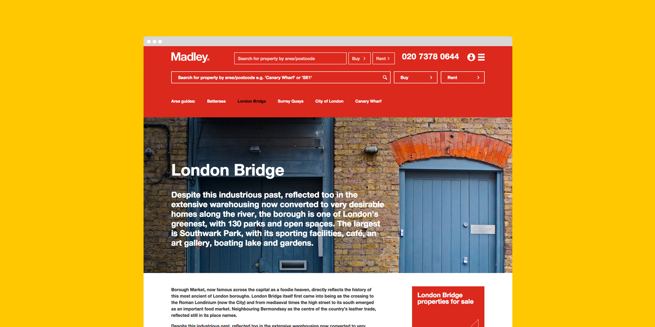 Madley website