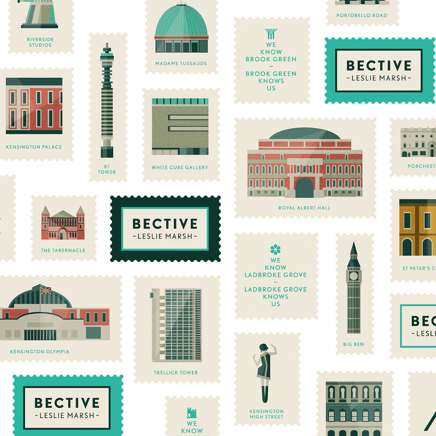 Bective illustrations