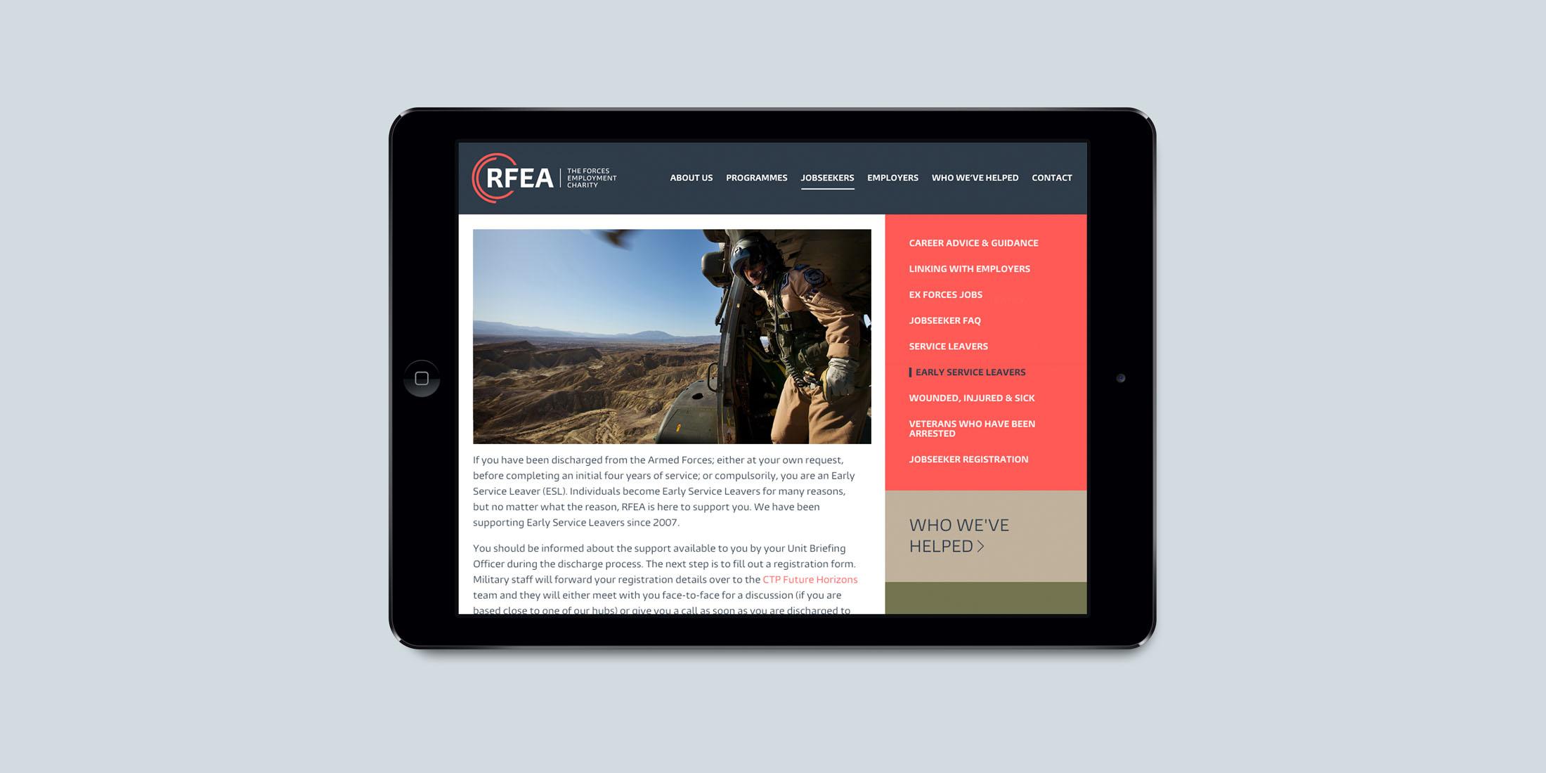 RFEA website