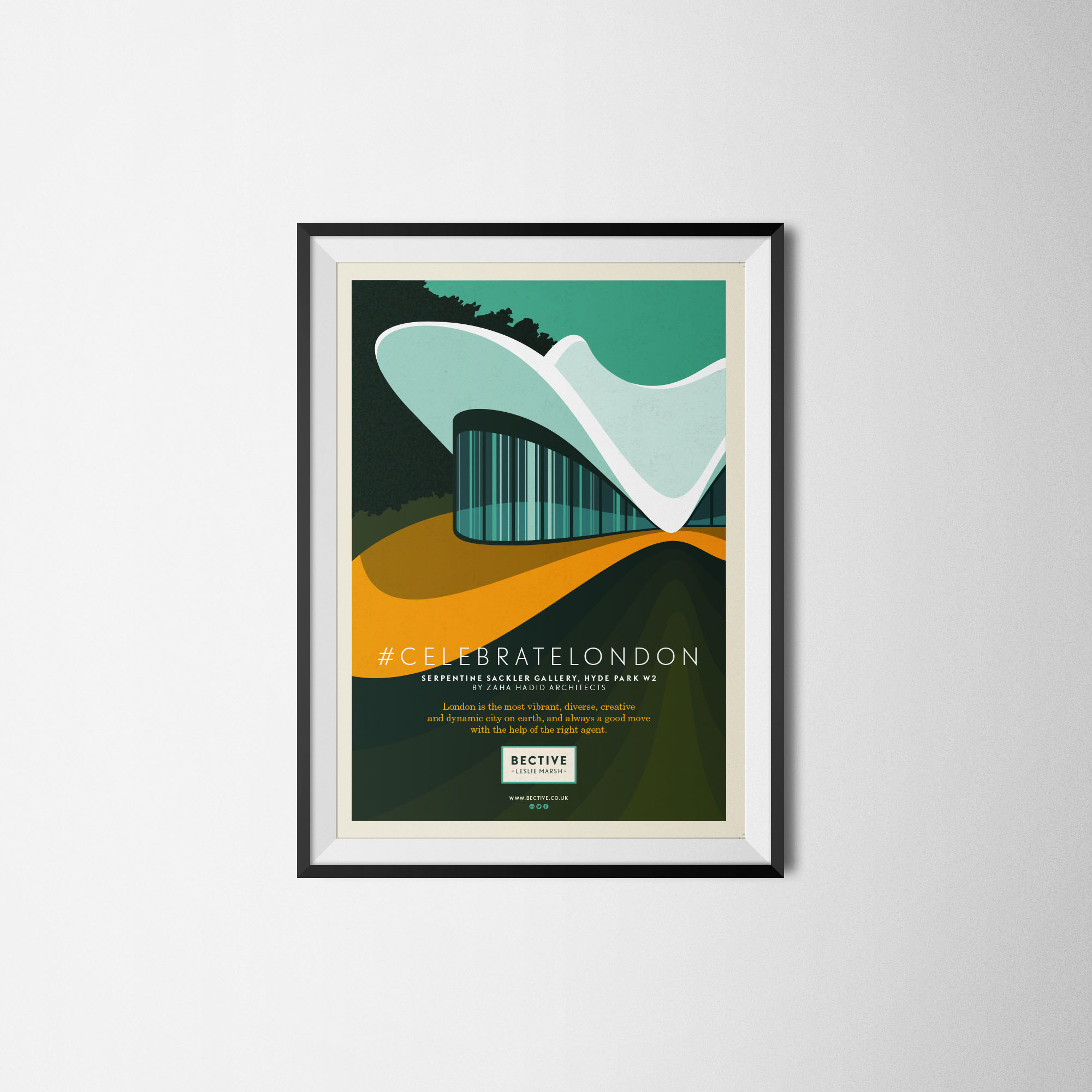 Bective framed illustration