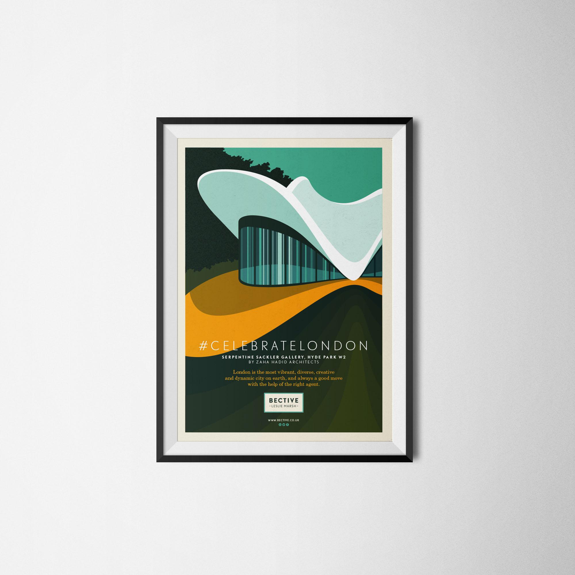 Bective framed illustration