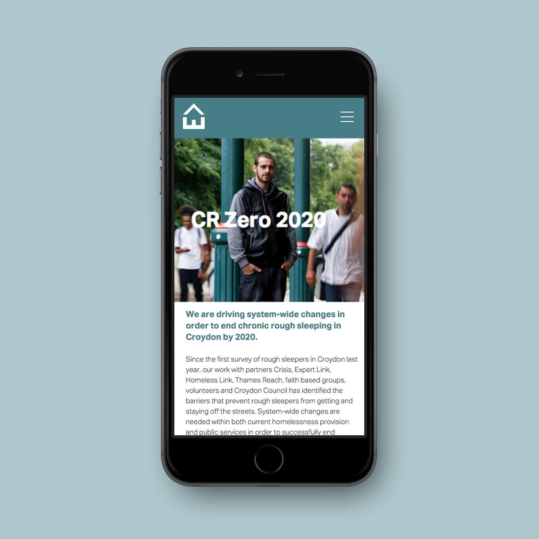 Evolve mobile site