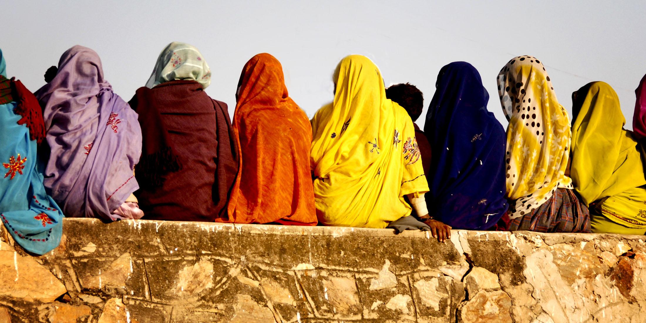 Seated ladies
