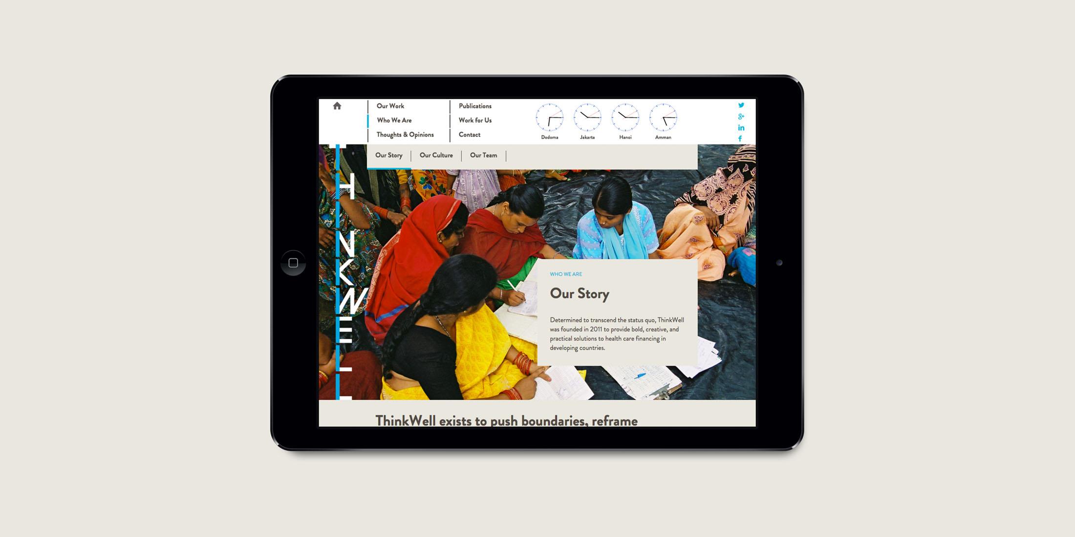 Thinkwell website