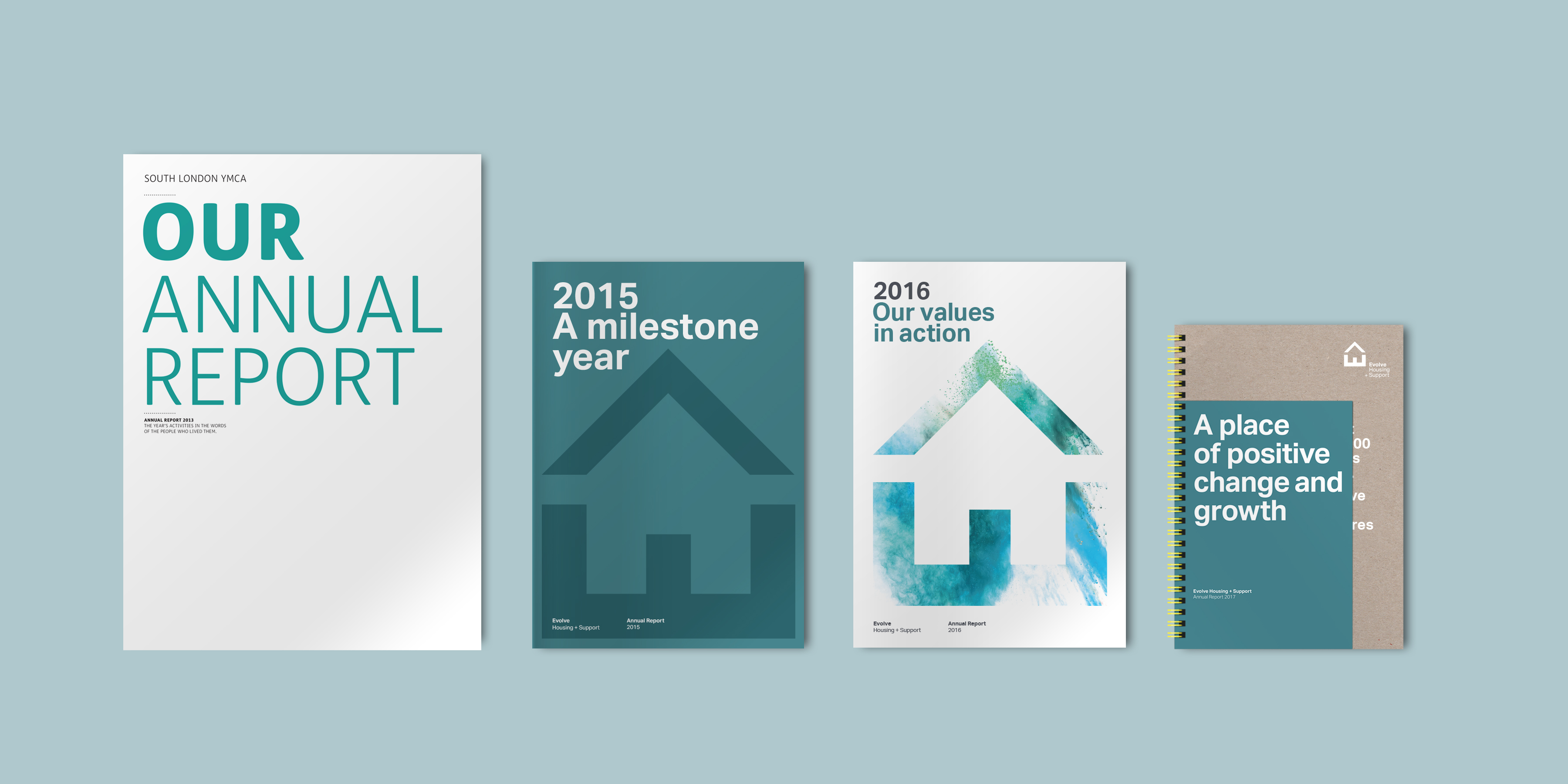 4 years of Evolve annual reports