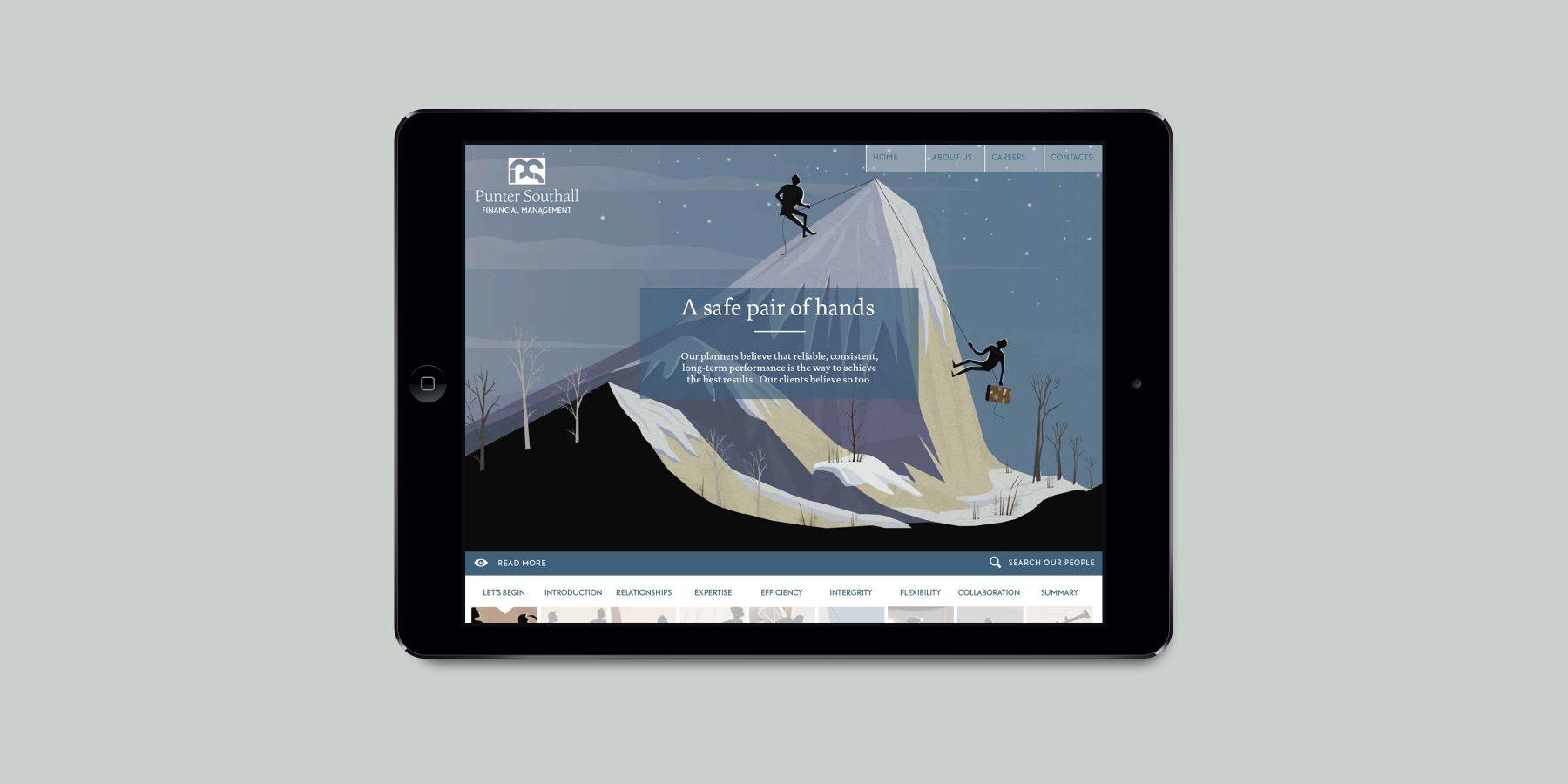 Ipad homepage