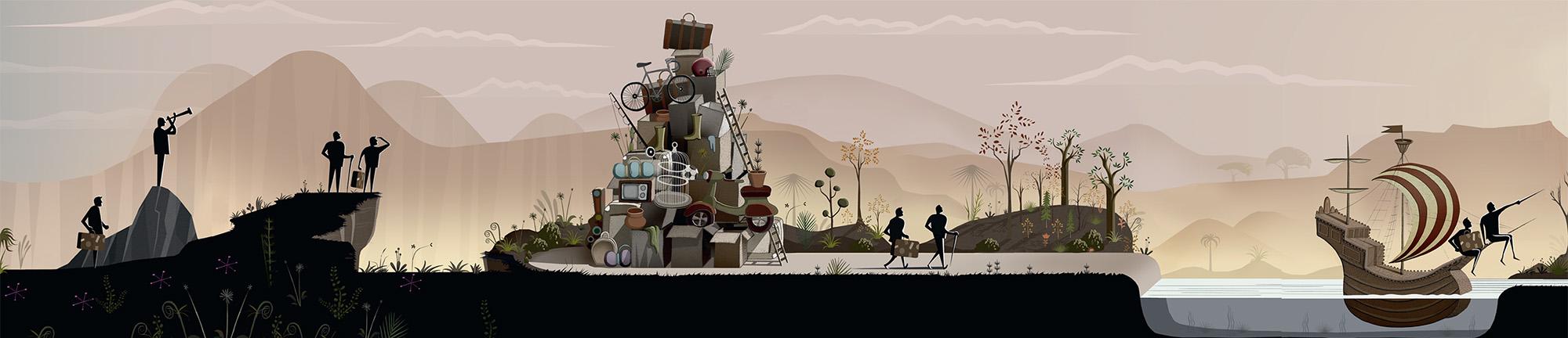 Punter Southall journey illustration 1