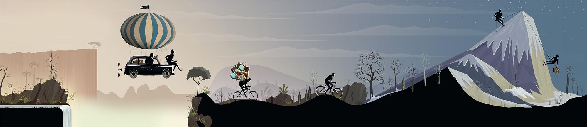 Punter Southall journey illustration 2