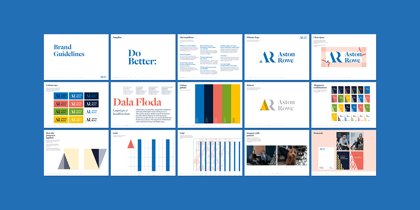 Aston Rowe brand guidelines