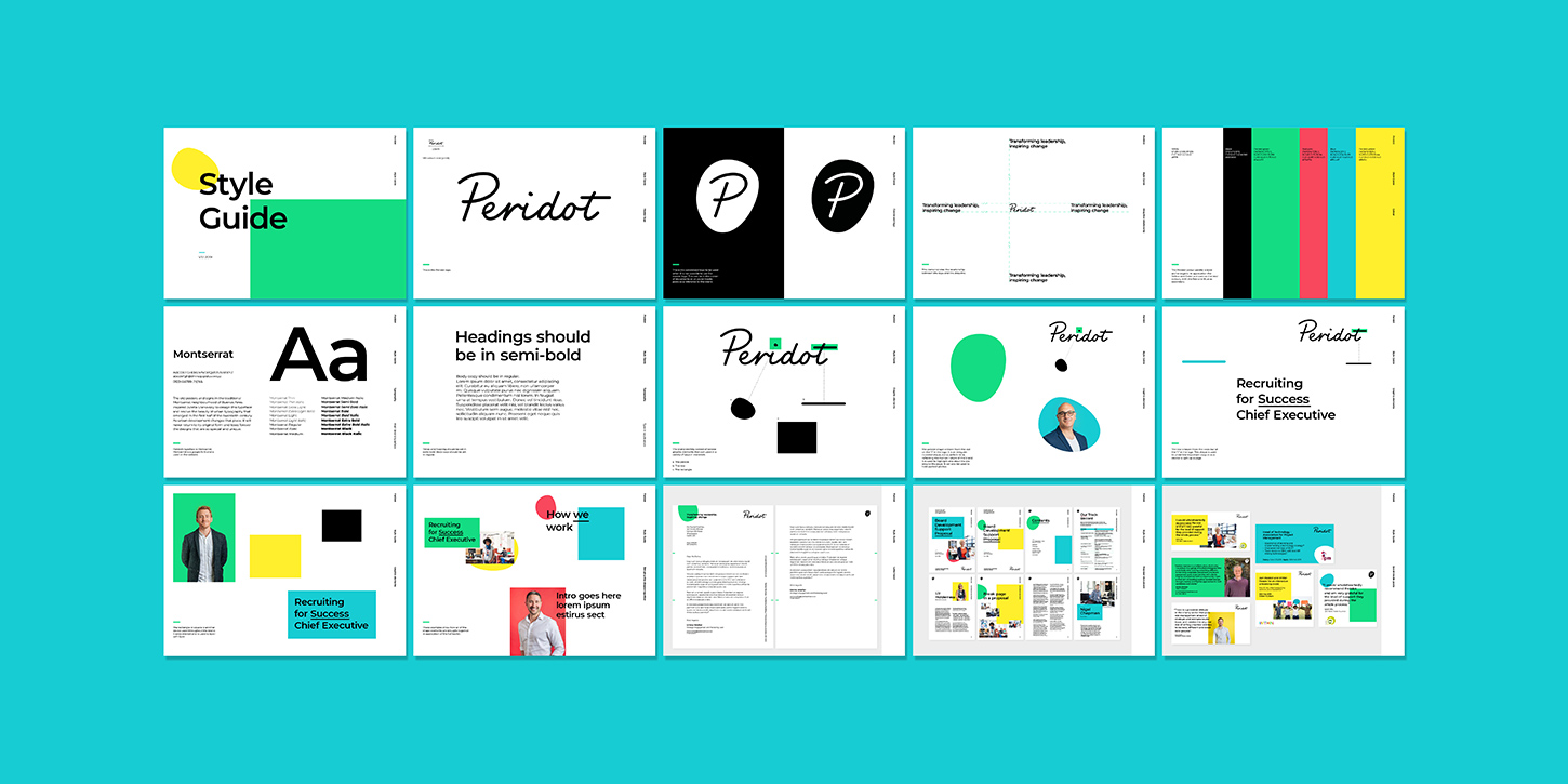 Peridot brand guidelines